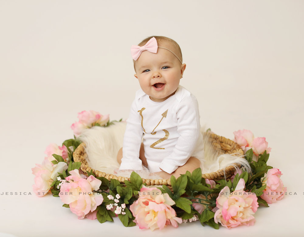 floral is lifeeeee!   rochester ny baby photographers