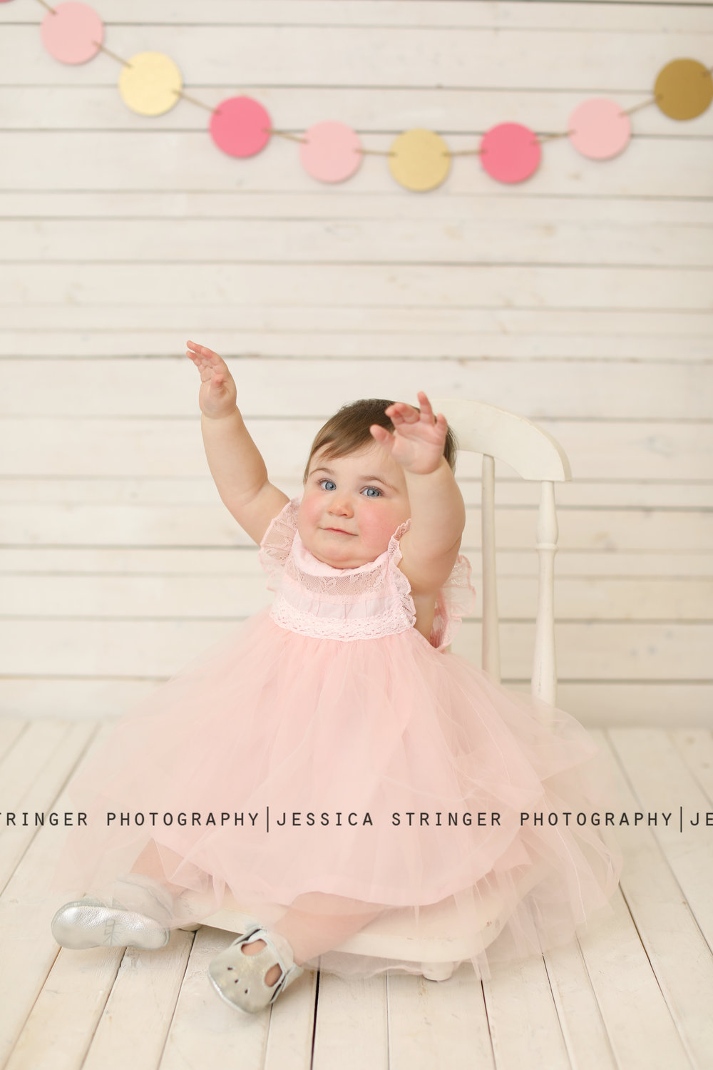 This little lady had the best personality and was full of it for her first birthday photo session!