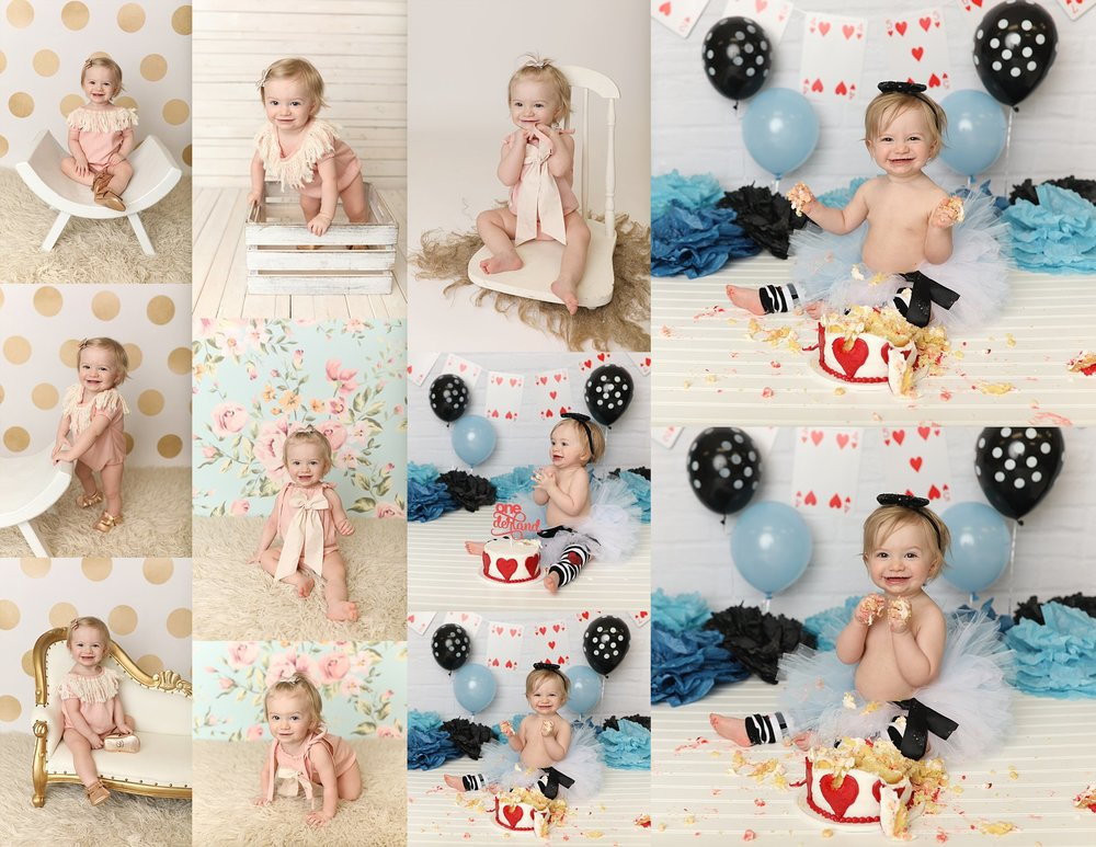 Cake smash rochester ny photographer
