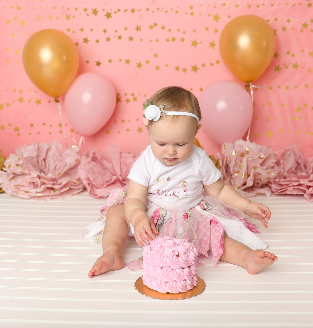 Family photographer photos photo session first birthday / cake smash / one year / baby