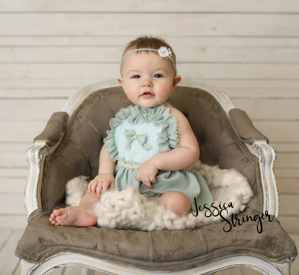 6 month old infant baby photo sessions rochester ny