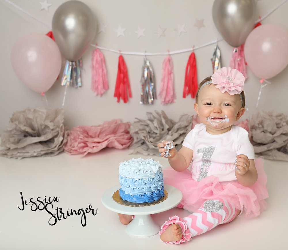 rochester area newborn photography baby infant first birthday cake smash best