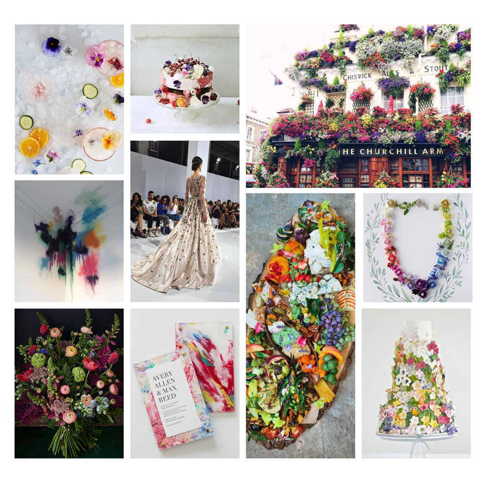 Photo Credits:  Anthropologie ,  Lotta Lundgren ,  The Style Scribe,   Javier Castan ,  Georges Hobeika,   Design Love Fest ,  Jose Villa ,  Scarlet & Violet ,  Yonder Design ,  Cakes by Krishanthi