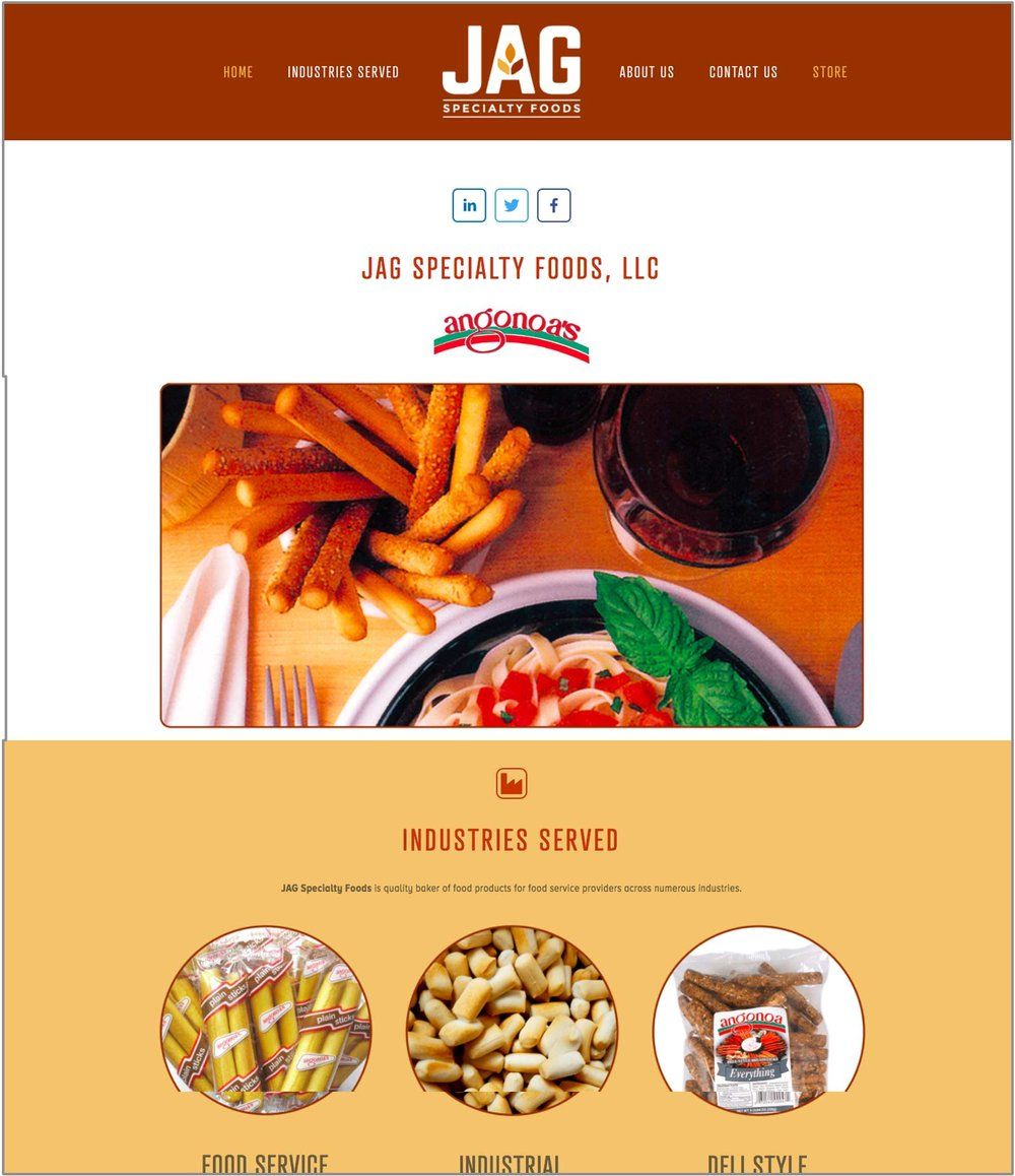 JAG SPECIALTY FOODS—Wholesale Food Distributor