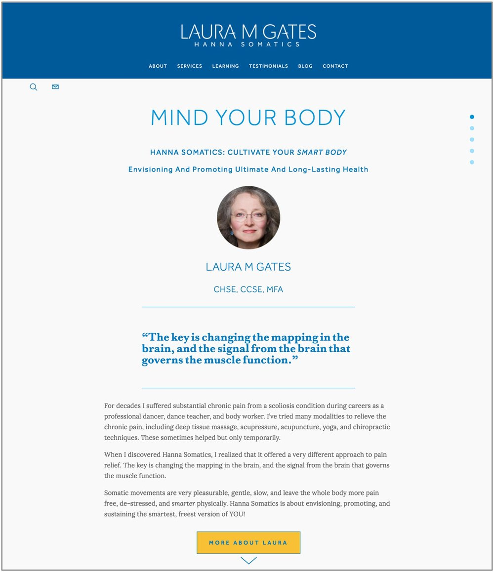 LAURA M GATES—Holistic Health Education & Services