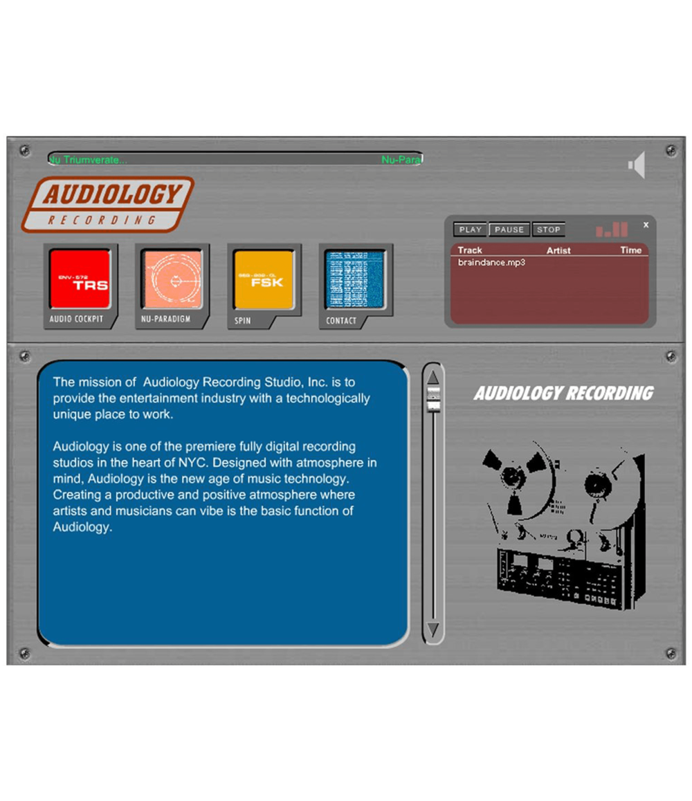 AUDIOLOGY—Recording Studio