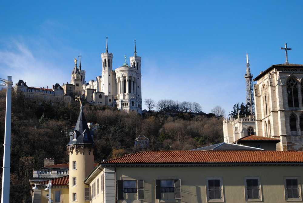 Fourvière in Lyon, France