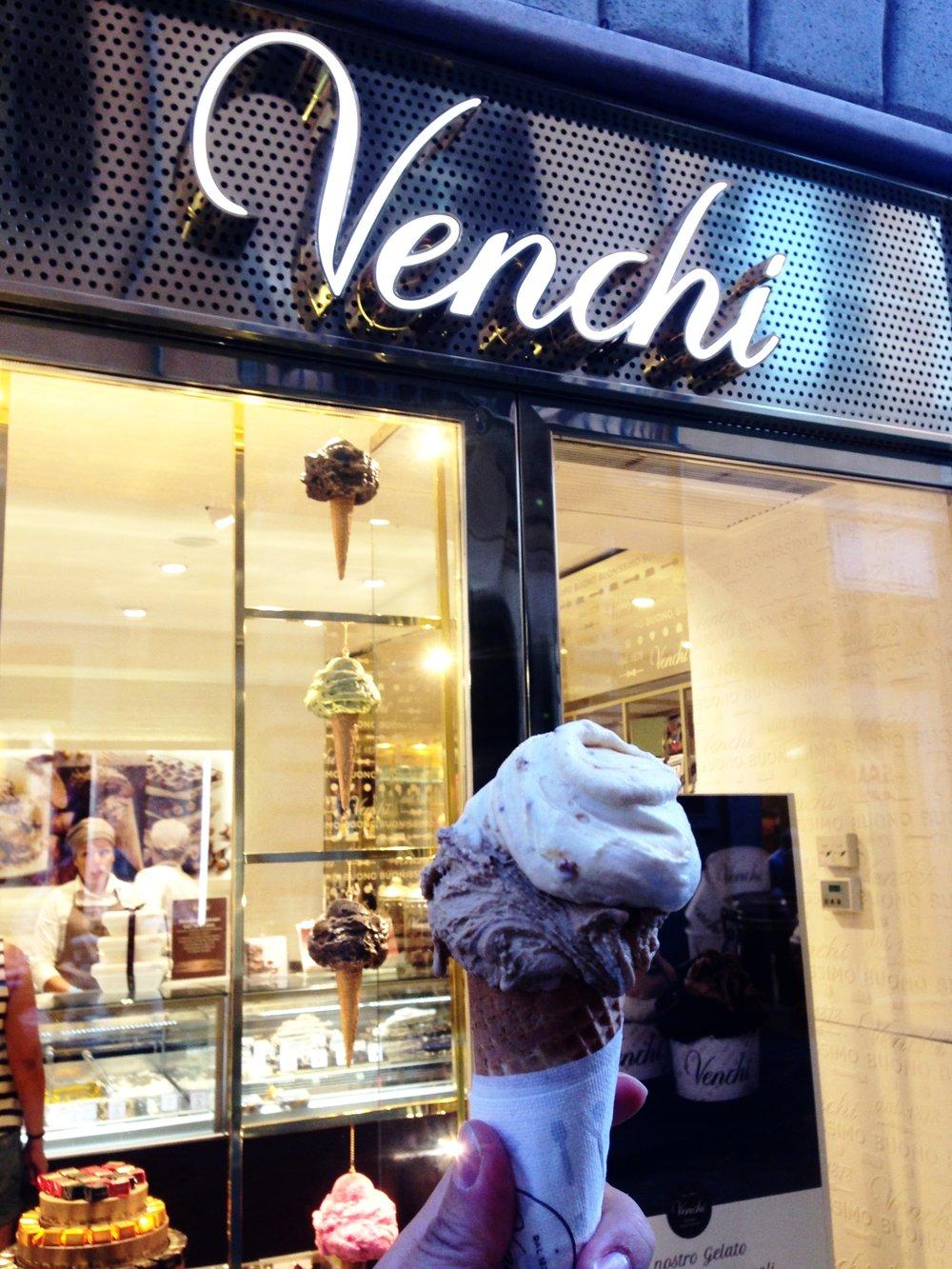 Venchi in Rome, Italy