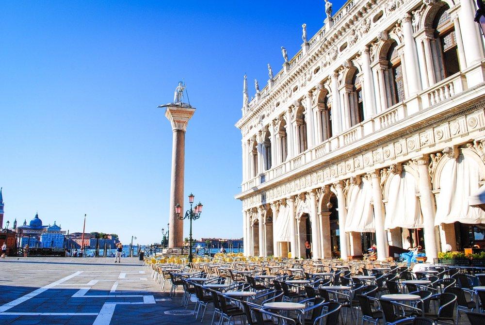 Piazza di San Marco in Venice, Italy