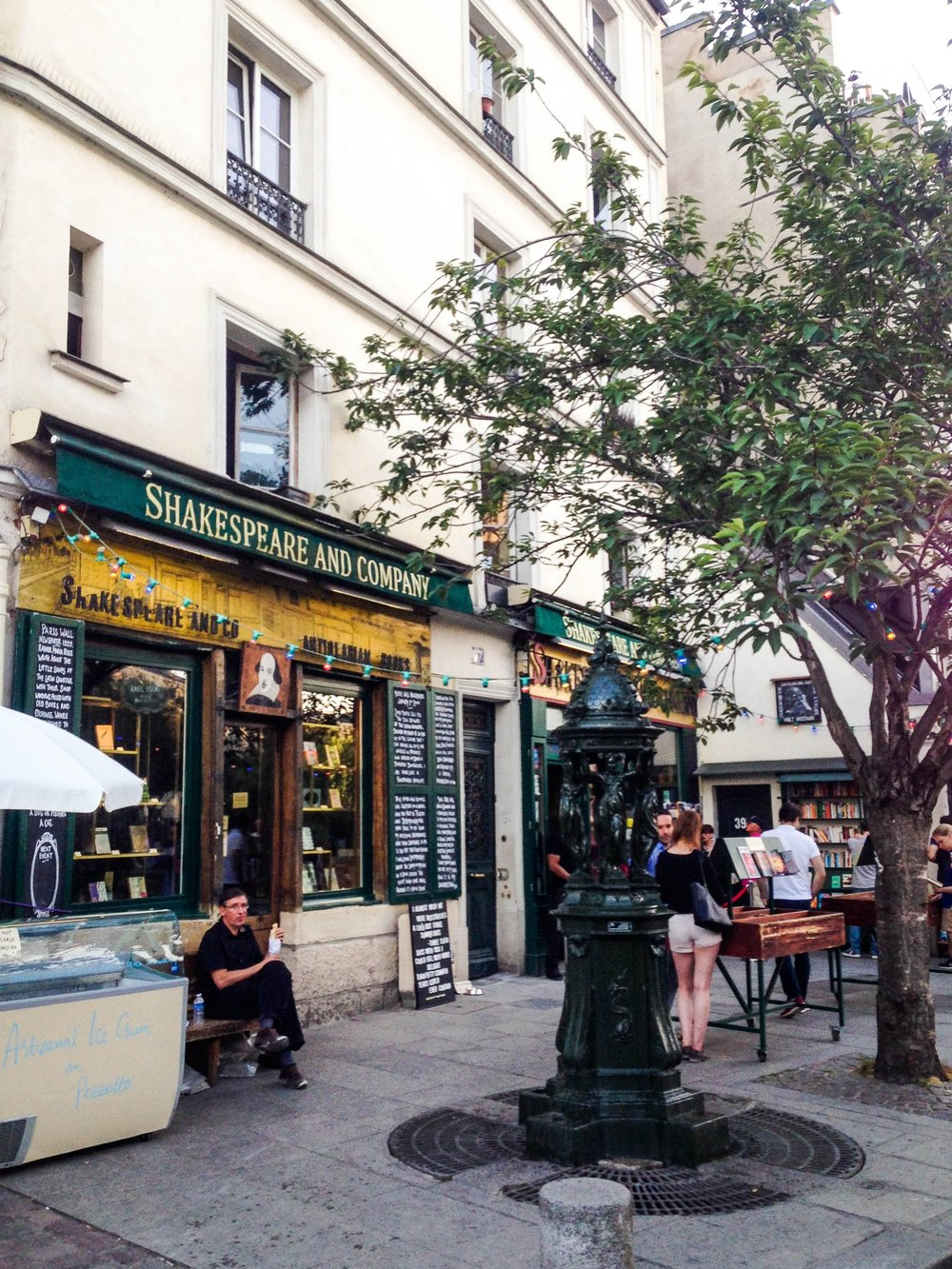 Shakespeare & Company in Paris, France