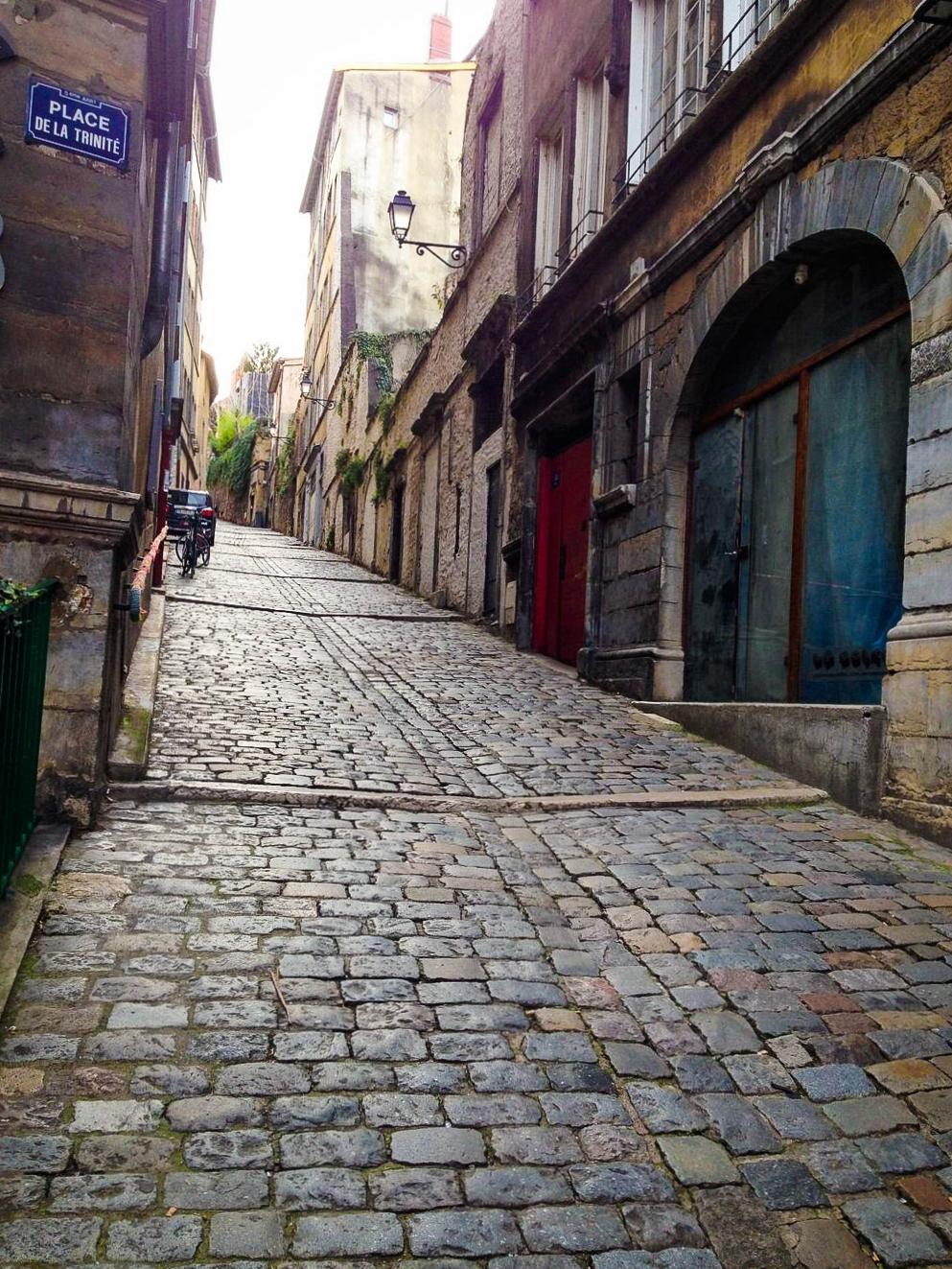 Vieux Lyon in Lyon, France