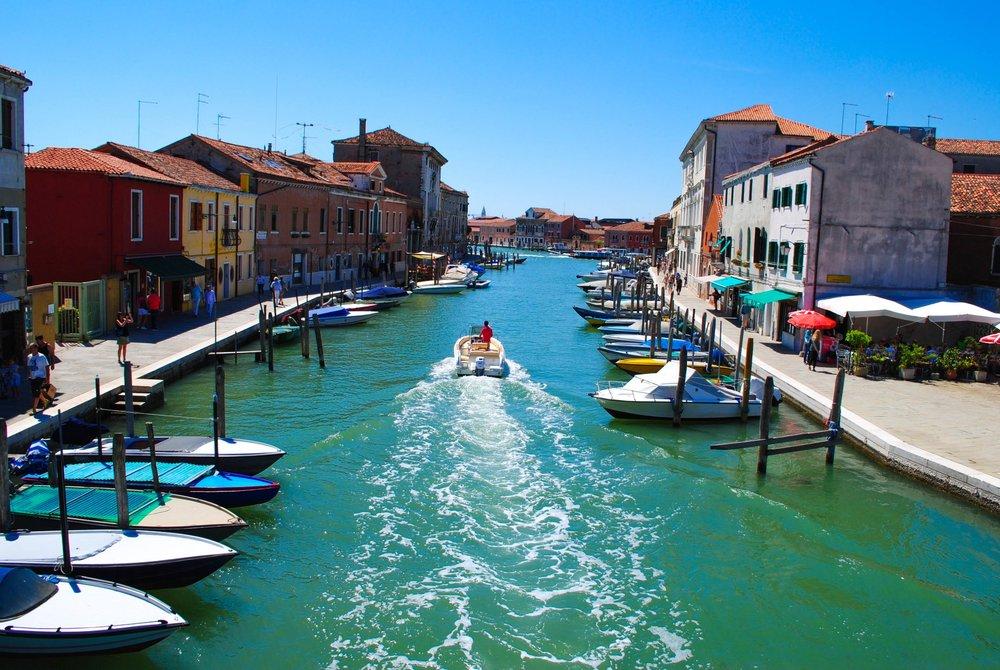 Murano in Venice, Italy