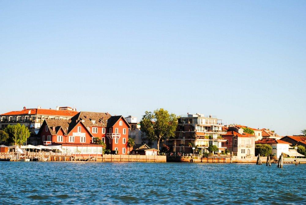 Lido di Venezia in Venice, Italy