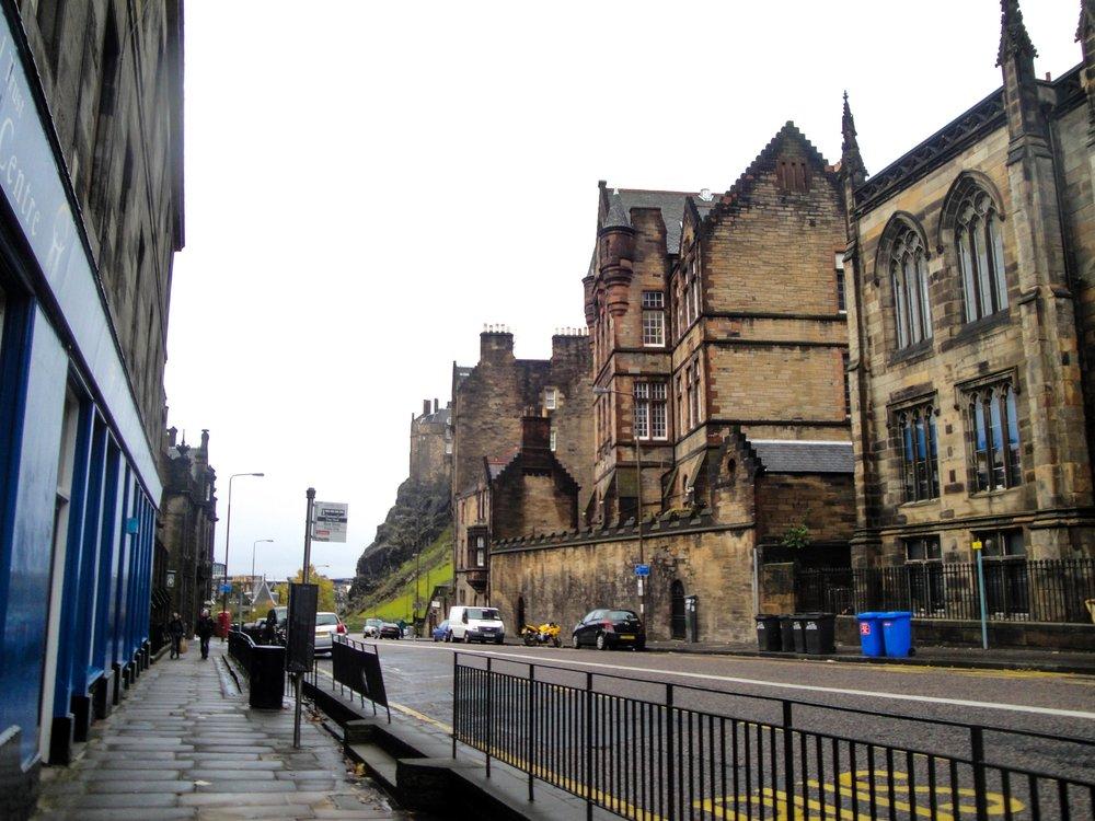 Edinburgh Old Town in Edinburgh, Scotland