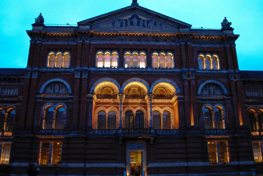 Victoria and Albert Museum in London, England