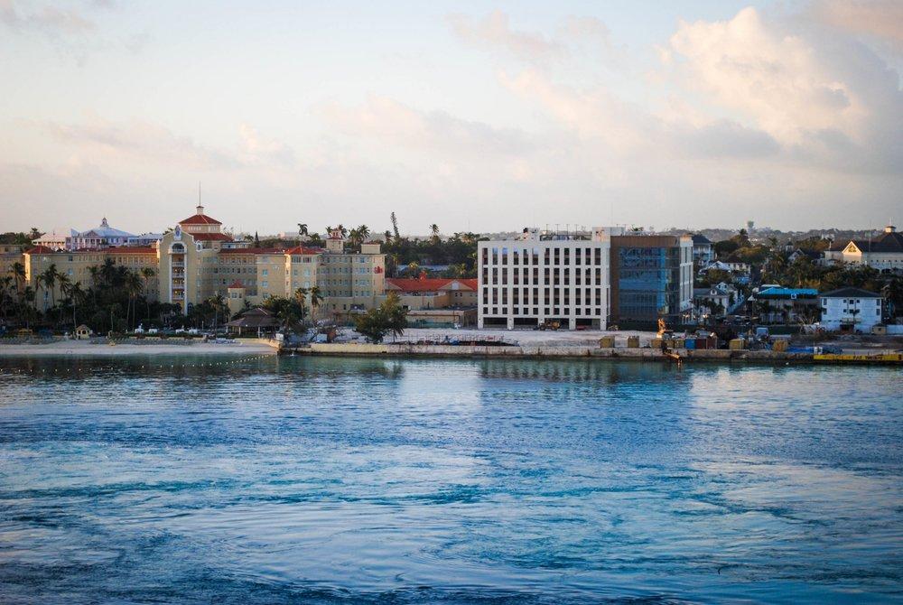 Downtown in Nassau, Bahamas