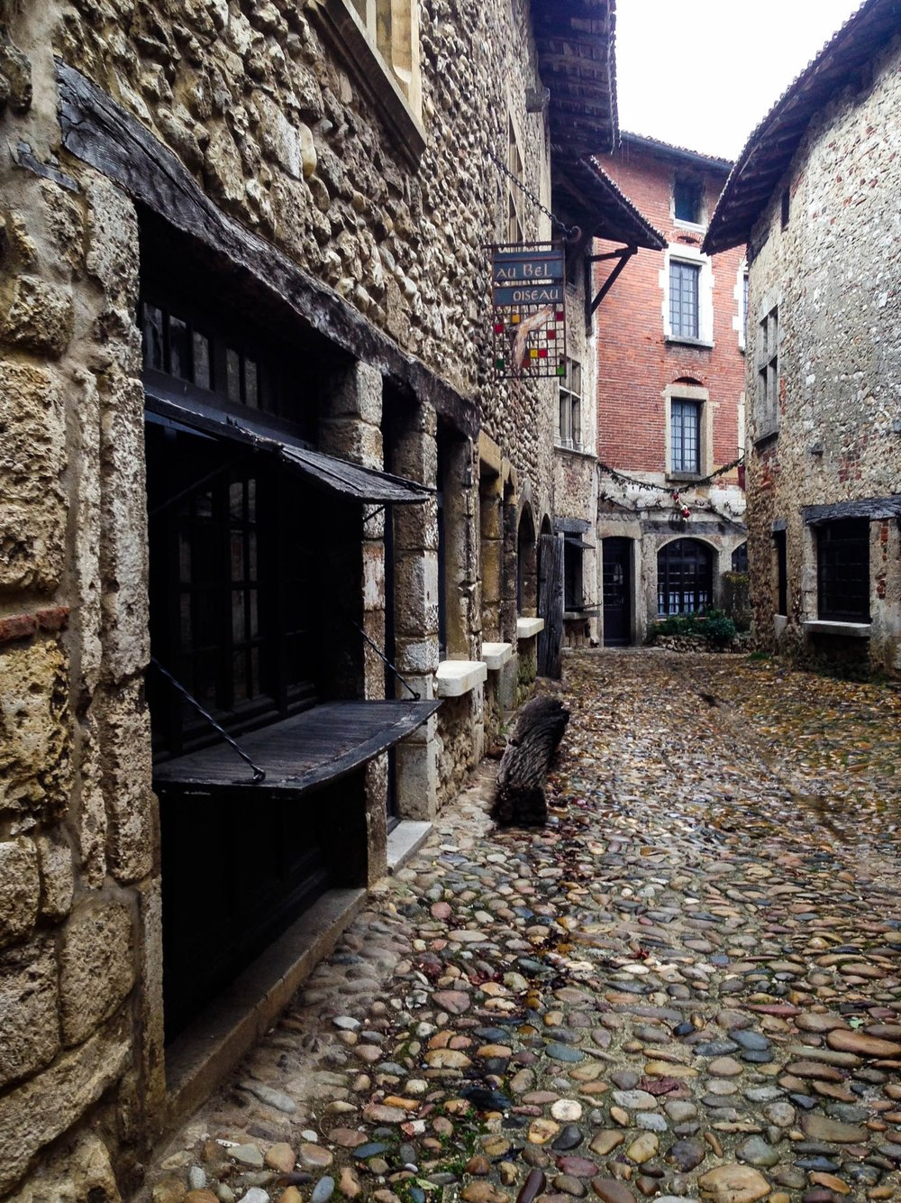 Medieval City in Perouges, France