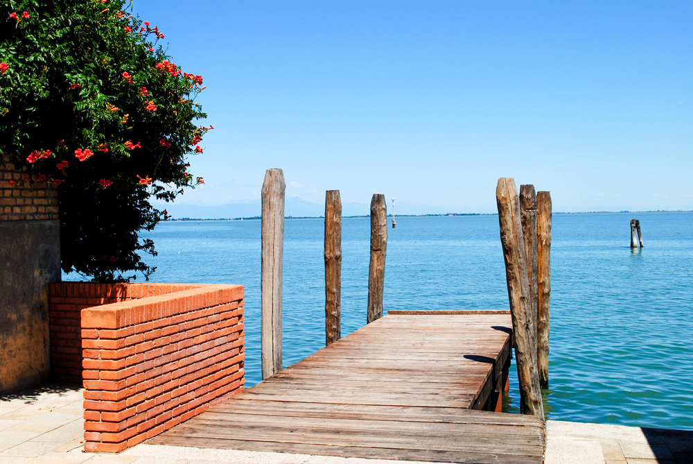 Port on Murano, Italy