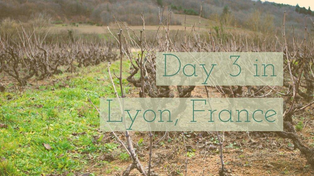 Day 3 in Lyon, France