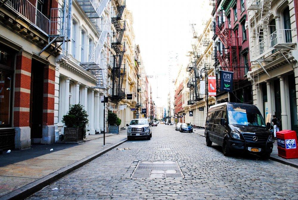 Soho in New York City, New York