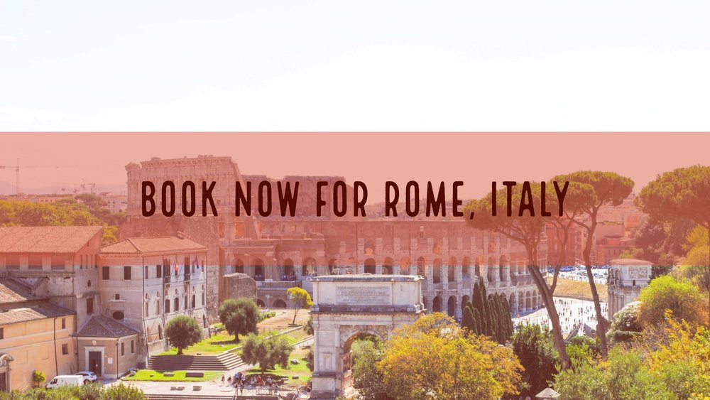 Book for Rome, Italy