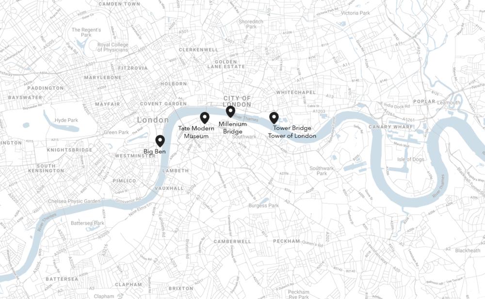 Walk Along the Thames River