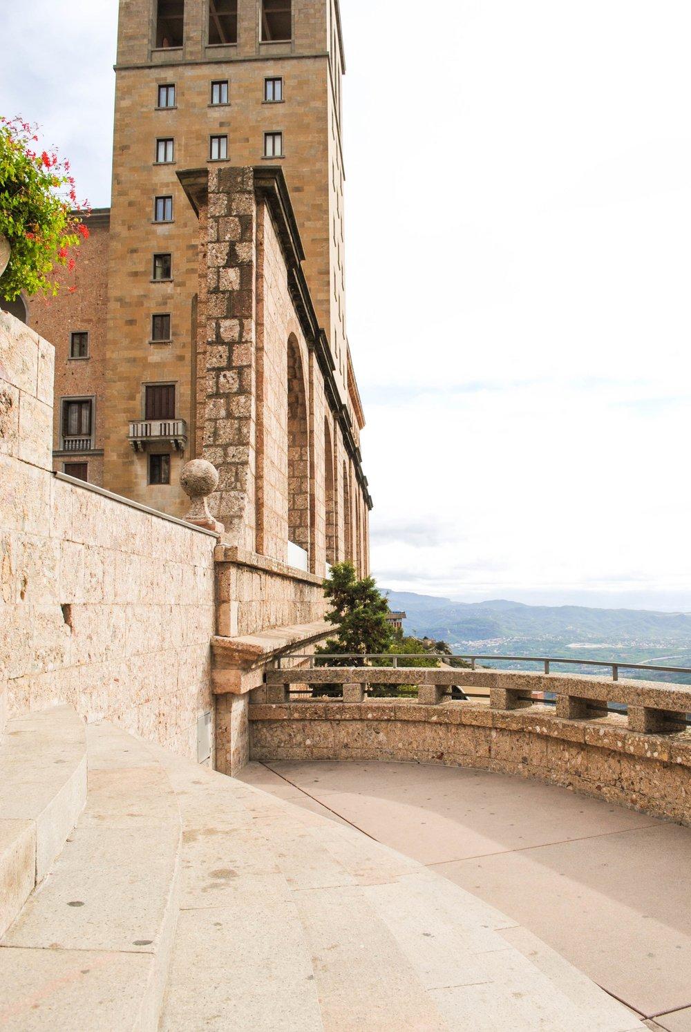 Santa Maria de Montserrat in Catalonia, Spain