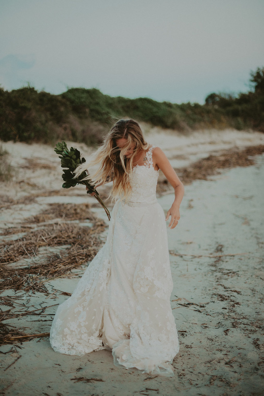 beach bride inspiration