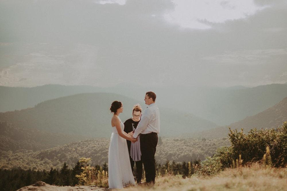 North Carolina Mountain Elopement