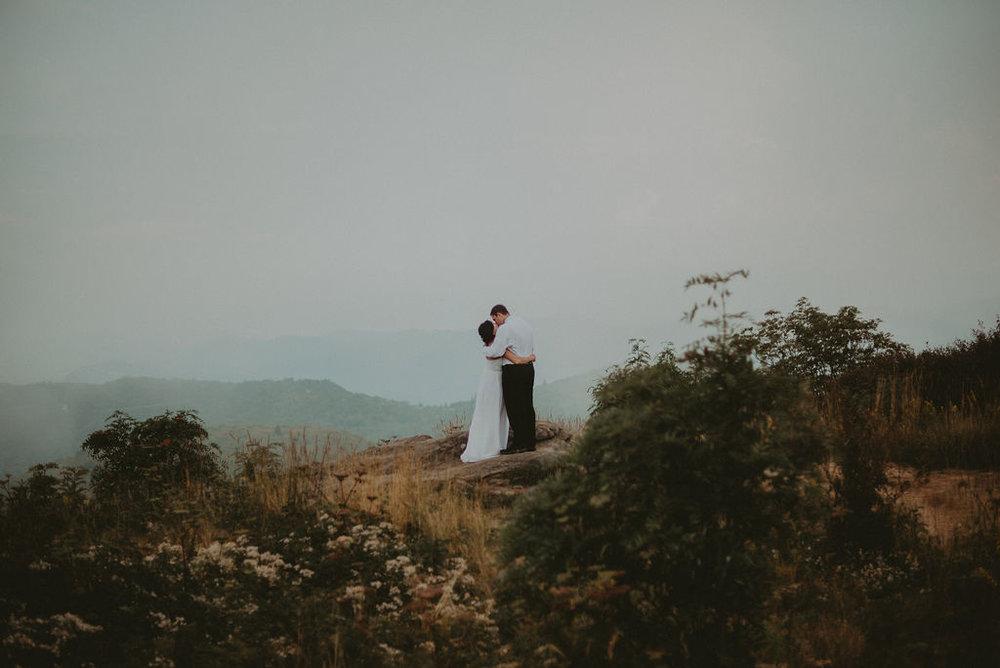 Boho adventurous elopement photography