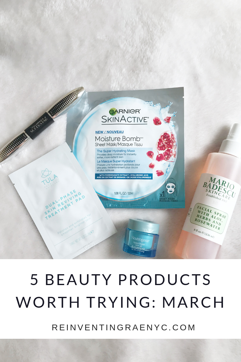 BEAUTY PRODUCTS MARCH