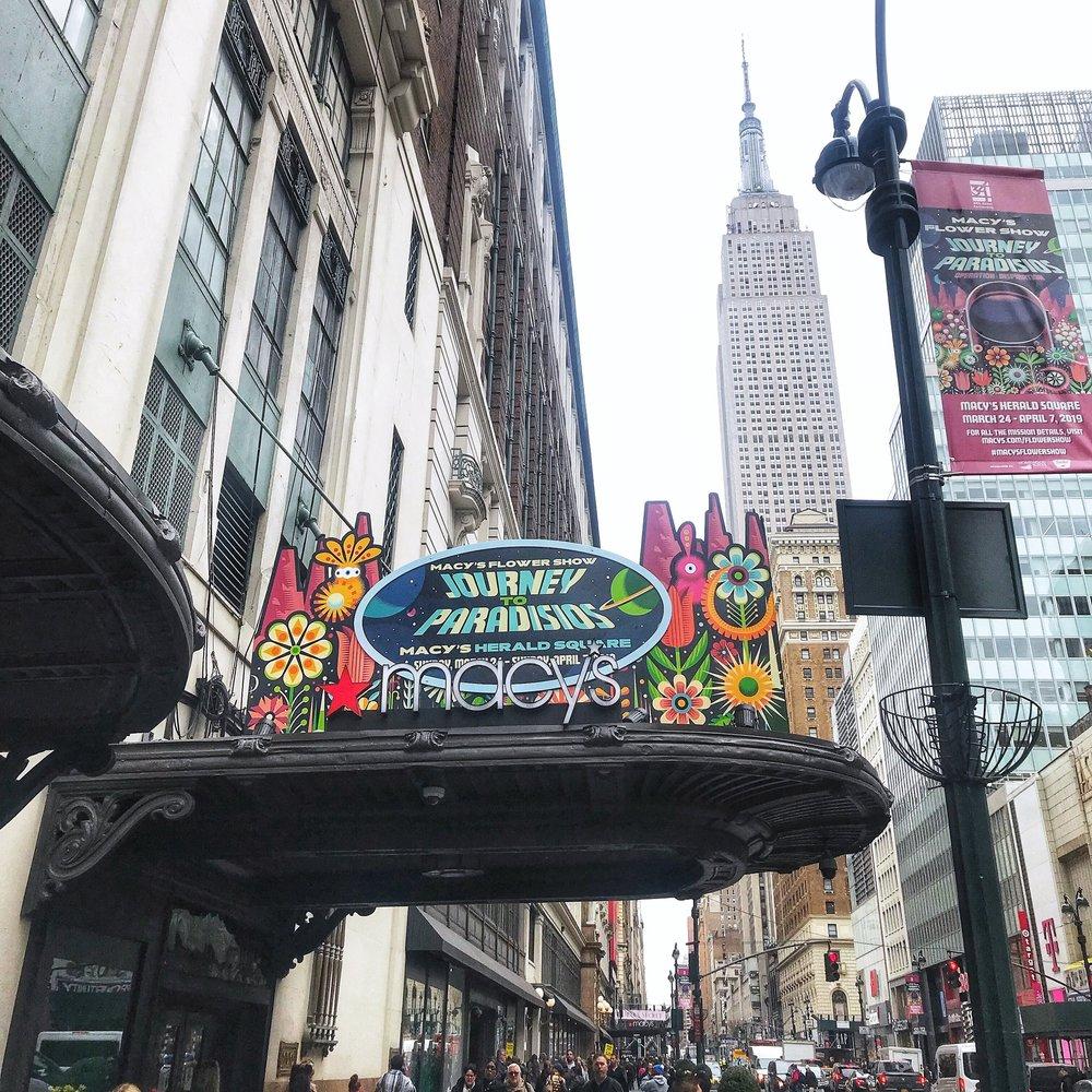 Macy's Flower Show 2019