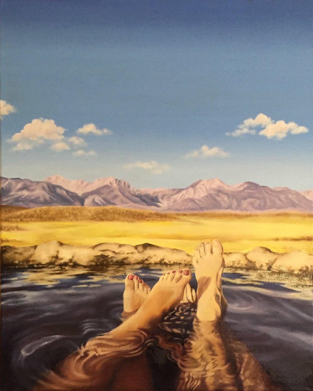 High Desert Footbath