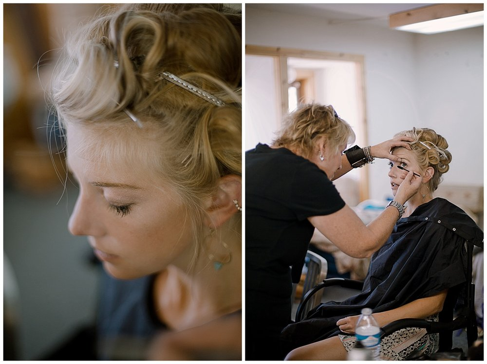 The Bride Getting Ready, Colorado Wedding Photographer, adventurous colorado wedding photographer, marble colorado wedding