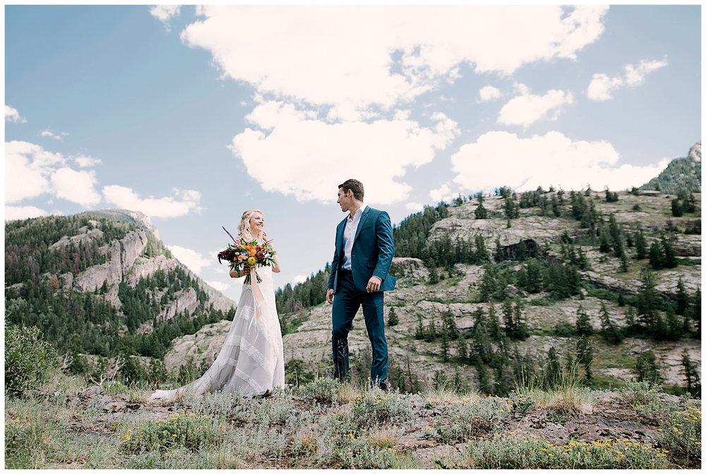 bride and groom first look, adventurous first look, maroon bells wilderness wedding, adventure wedding, adventurous colorado wedding photographer, marble colorado wedding