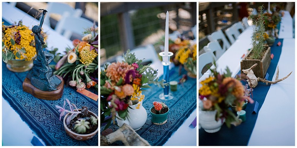 wedding table decor, wedding details, outdoor colorado wedding, adventurous colorado wedding photographer, marble lodge wedding, marble colorado wedding