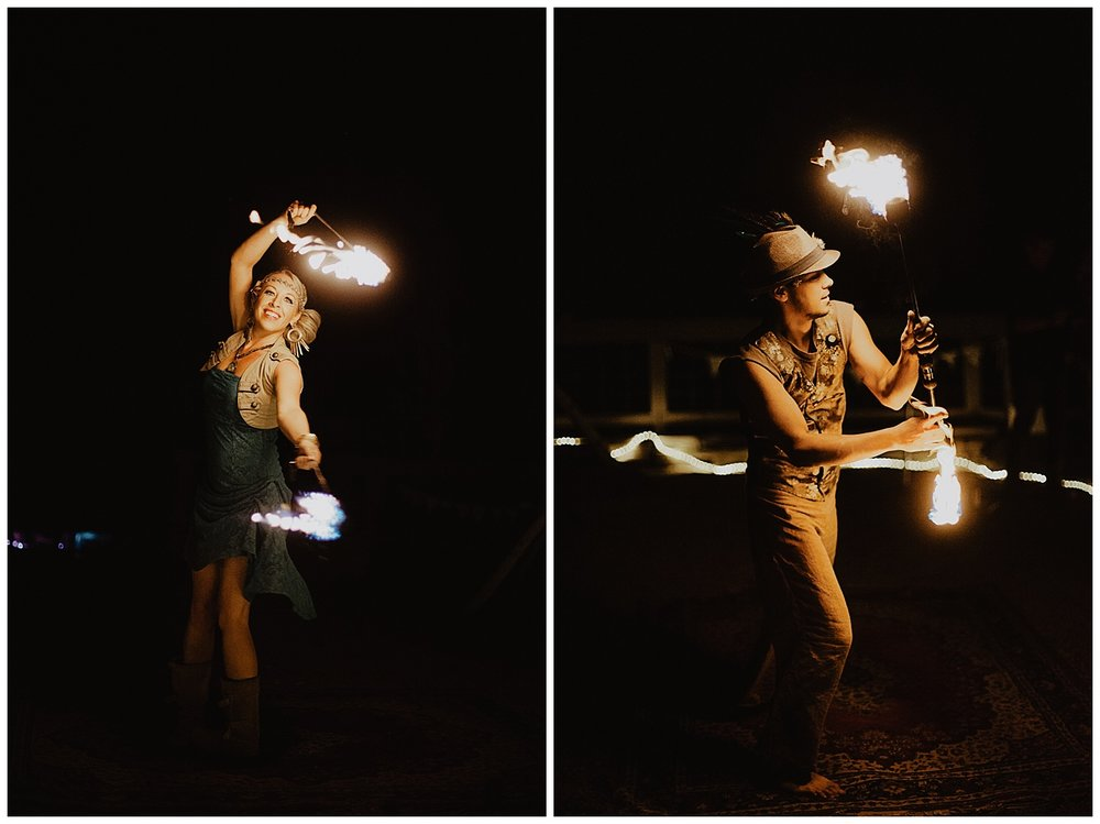 colorado fire dancers, outdoor wedding reception, outdoor colorado wedding, marble colorado wedding, marble lodge wedding, adventurous colorado wedding photographer, lumina entertainment