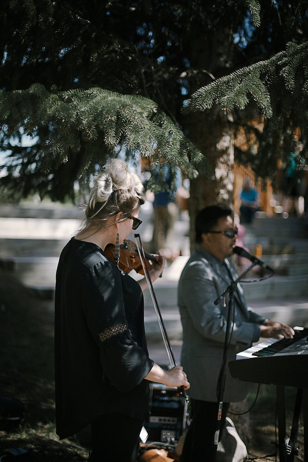 music for wedding procession at agape outpost, breckenridge colorado wedding, breckenridge colorado wedding photographer, the church at agape outpost wedding, agape outpost wedding photographer