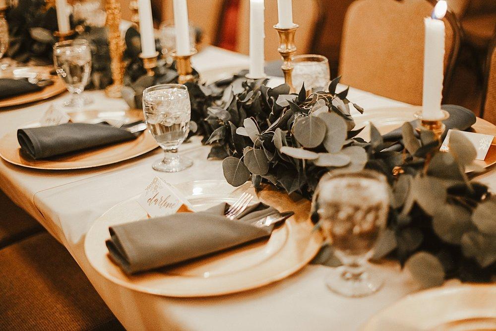 wedding table decor at silverthorne pavillion, silverthorne colorado wedding, silverthone pavillion wedding photographer, silverthorne pavillion wedding, silverthorne colorado wedding photographer