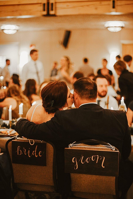 bride and groom chairs, silverthorne colorado wedding photographer, silverthorne pavillion wedding, silverthorne pavillion wedding photographer