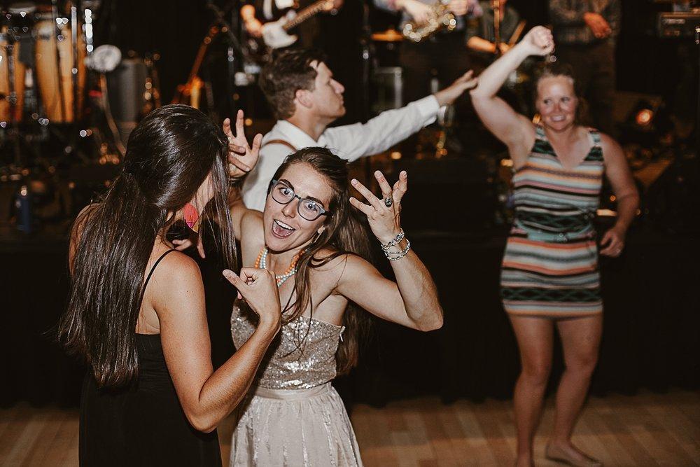 guest dancing wedding reception silverthorne pavillion, silverthorne pavillion wedding, silverthorne pavillion wedding photographer, silverthorne colorado wedding photographer