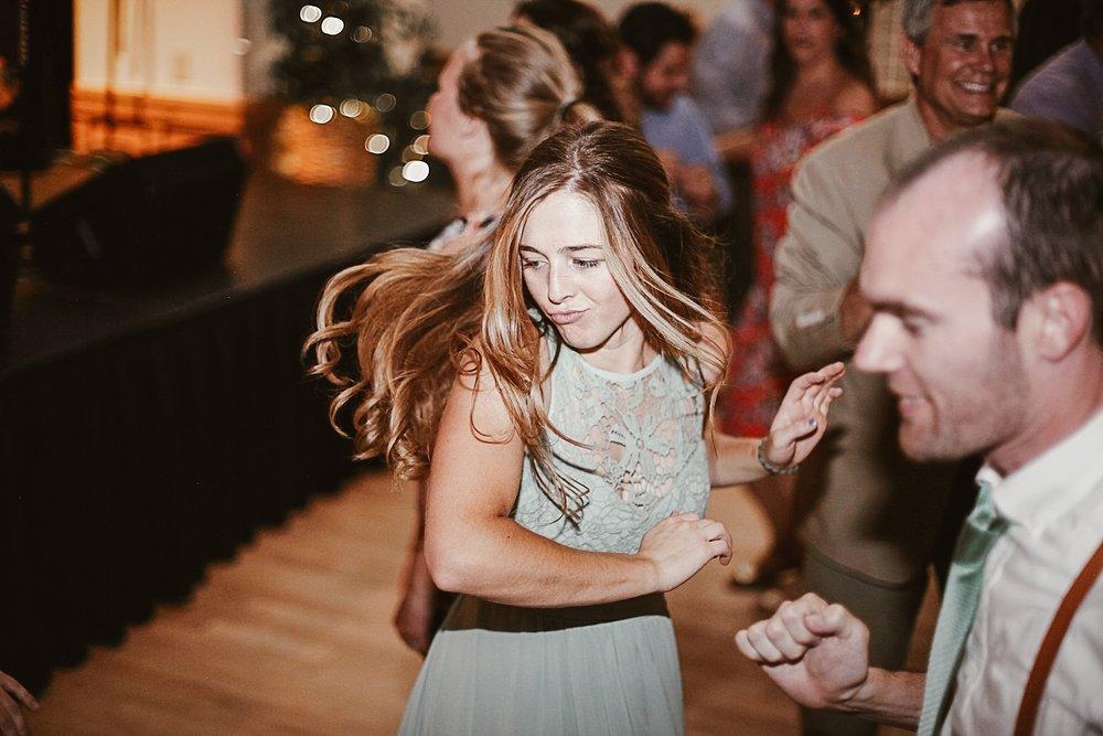 guests dancing, wedding reception at silverthorne pavillion, silverthorne colorado wedding photographer, silverthorne pavillion wedding, silverthorne pavillion wedding photographer