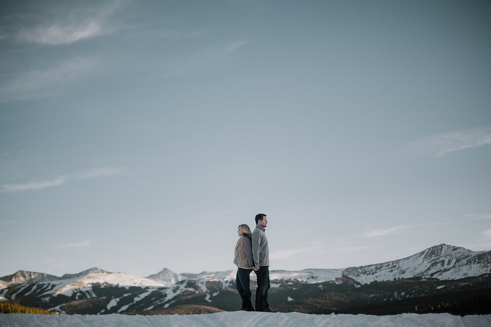 hiking couple, adventurous engagements, adventurous colorado wedding photographer, colorado wedding photographer, red cliff wedding photographer, leadville wedding photographer