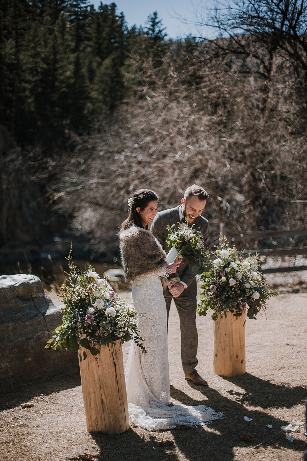 elopement ceremony, self solemnizing elopement, gateway natural area elopement, seaman reservoir elopement, fort collins colorado elopement, colorado elopement, fort collins wedding photographer