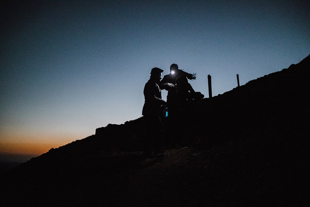 sunrise at james peak wilderness, colorado 13er, little echo lake, hike james peak, hike james peak lake, hike little echo lake, james peak elopement, winter park elopement, james peak wilderness