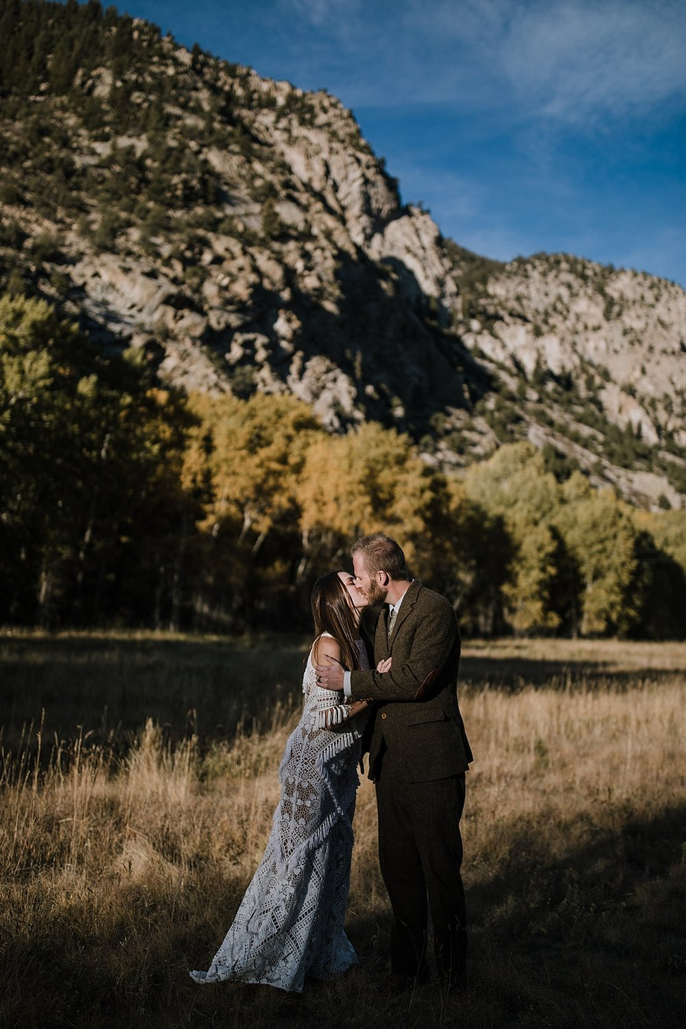 buena vista mountains, norway elopement, post elopement celebration, wedding in the woods, buena vista elopement, buena vista wedding, nathrop colorado wedding, adventurous colorado elopement
