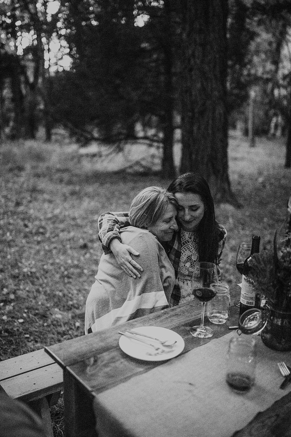 elopement dinner, picnic elopement, norway elopement, post elopement celebration, wedding in the woods, buena vista elopement, buena vista wedding, nathrop colorado wedding, bbq wedding, bbq elopement