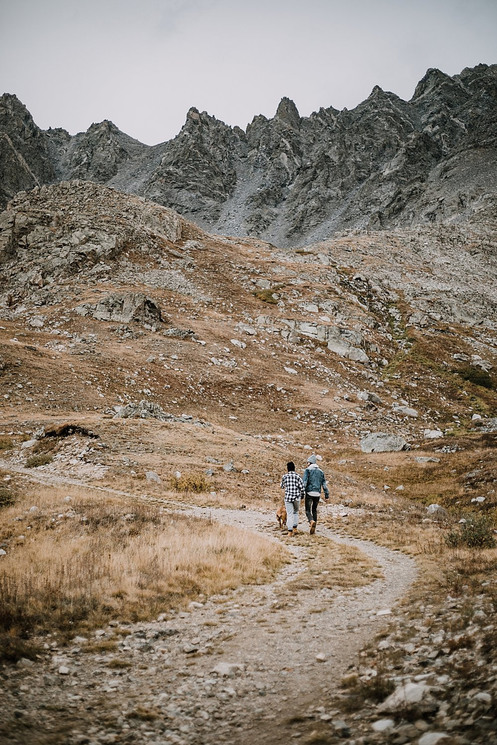 hiking up the mountain, colorado surprise proposal, hike mayflower gulch, mayflower gulch proposal, mayflower gulch elopement, mayflower gulch wedding, colorado mountainscape, leadville elopement