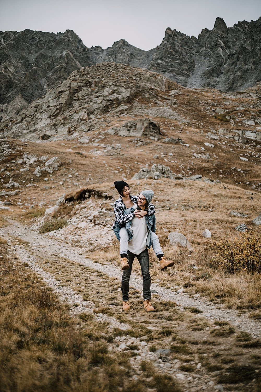 hiking couple, colorado surprise proposal, hike mayflower gulch, mayflower gulch proposal, mayflower gulch elopement, mayflower gulch wedding, colorado 14er, colorado fourteener, leadville elopement