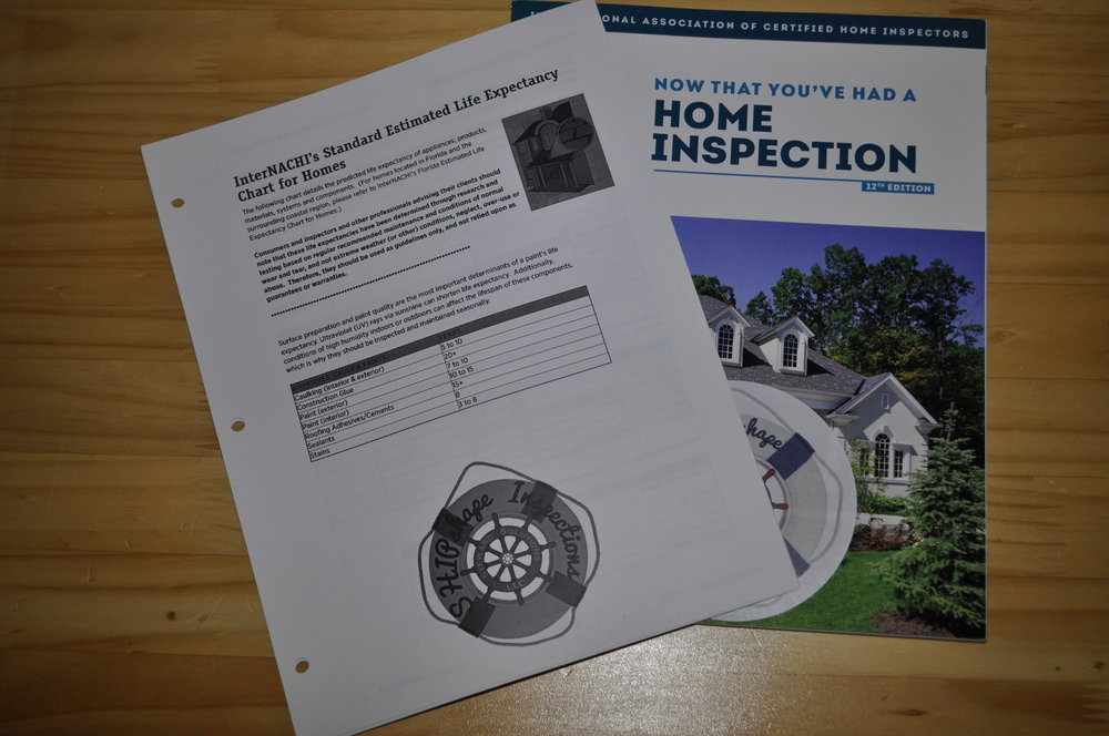 Home Maintenance Book & Life Expectancy Guide